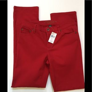 Ralph Lauren red jeans NWT